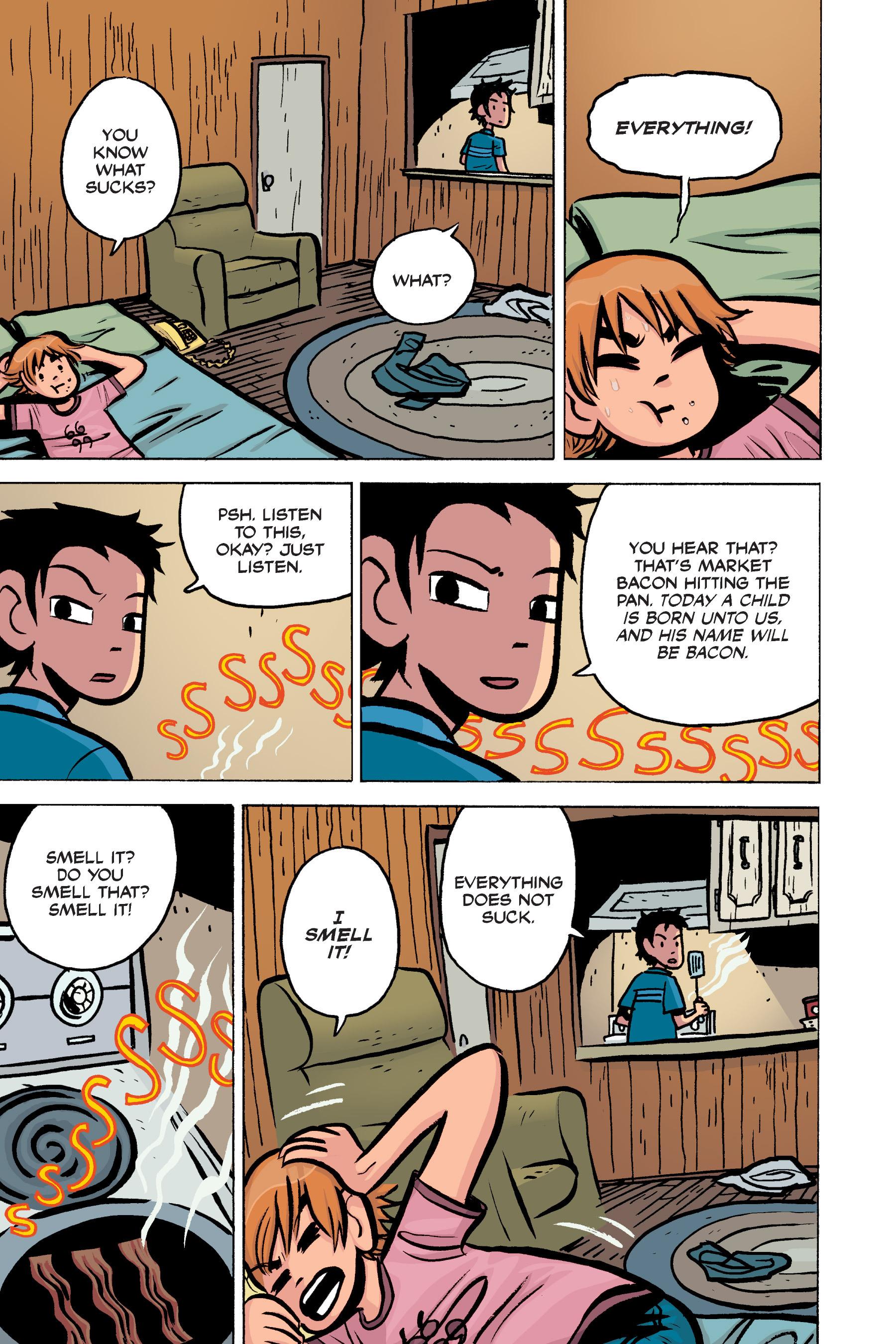 Read online Scott Pilgrim comic -  Issue #3 - 57