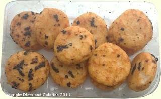 Graze snack - Very Nor'ish rice crackers