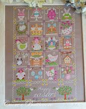 Shabby Easter Calendar