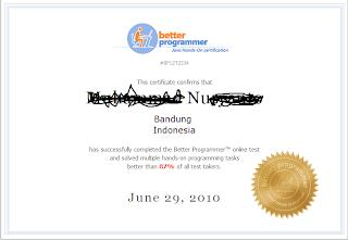 sertifikat online secara gratis tanpa bayar 100%, seperti gambar ...
