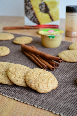 cake mix cookies apple snaps