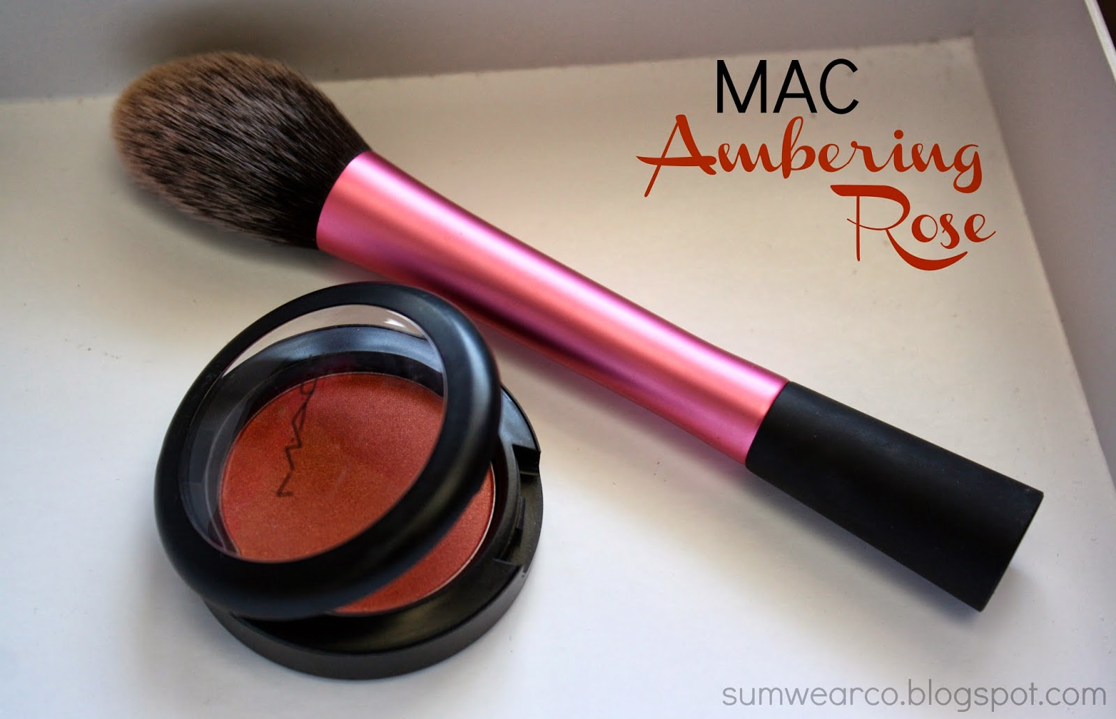 Dissecting Beauty with SumWear Co.: MAC Powder Blush in Ambering Rose