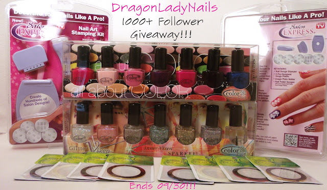 Dragon Lady Nails's 1000+ Follower Giveaway