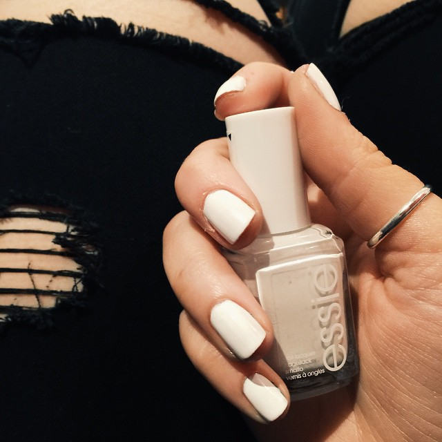 Essie White Nail Polish