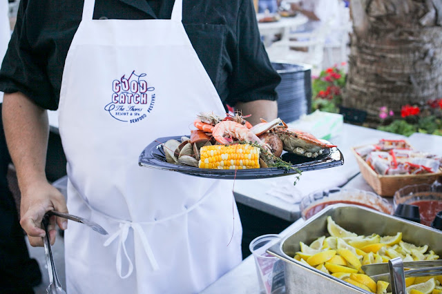 Seafood Boil during Great Catch Weekend at The Shores Resort and Spa