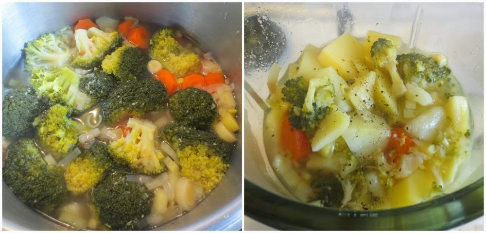 Batir hortalizas