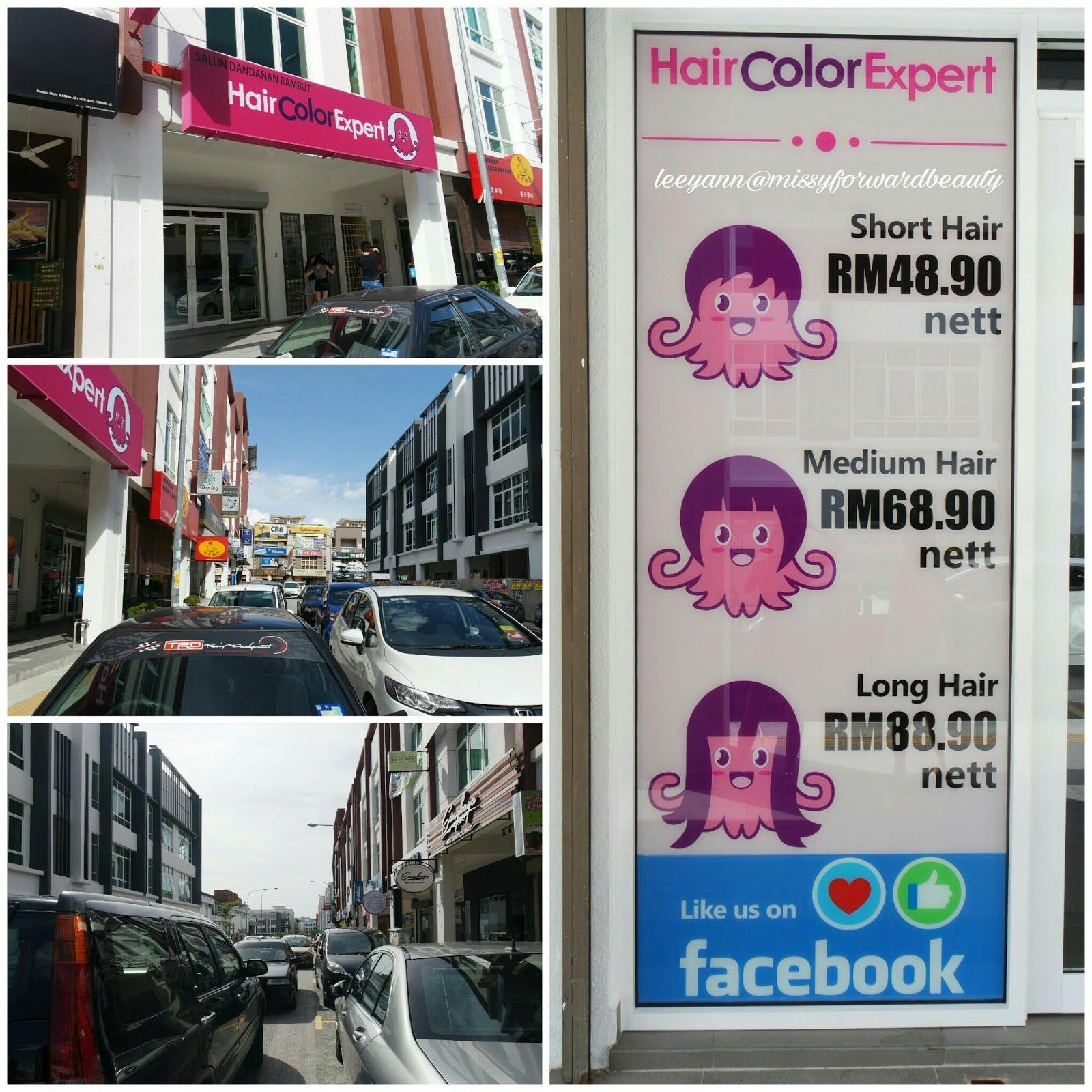 Hair Color Expert Sri Petaling Review  Missy Forward Beauty