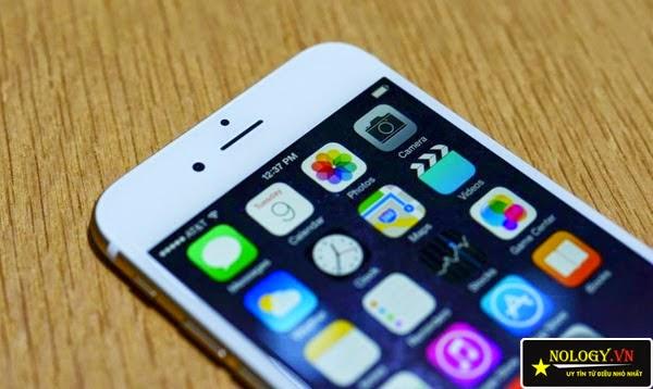 Màn hình chiếc Iphone 6 lock