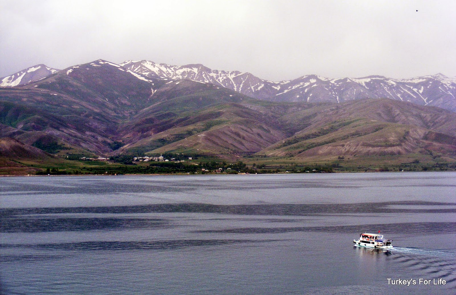 Lake Van Views From Akdamar Island