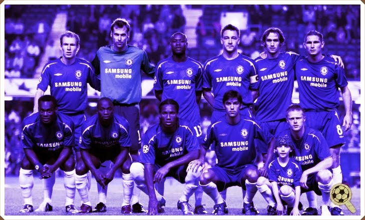 Times de que Gostamos  Chelsea 2004-2006 a5ed6079b62a1
