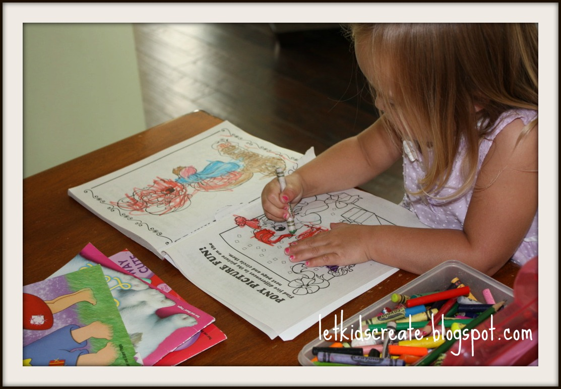 Let Kids Create: 7 benefits of coloring