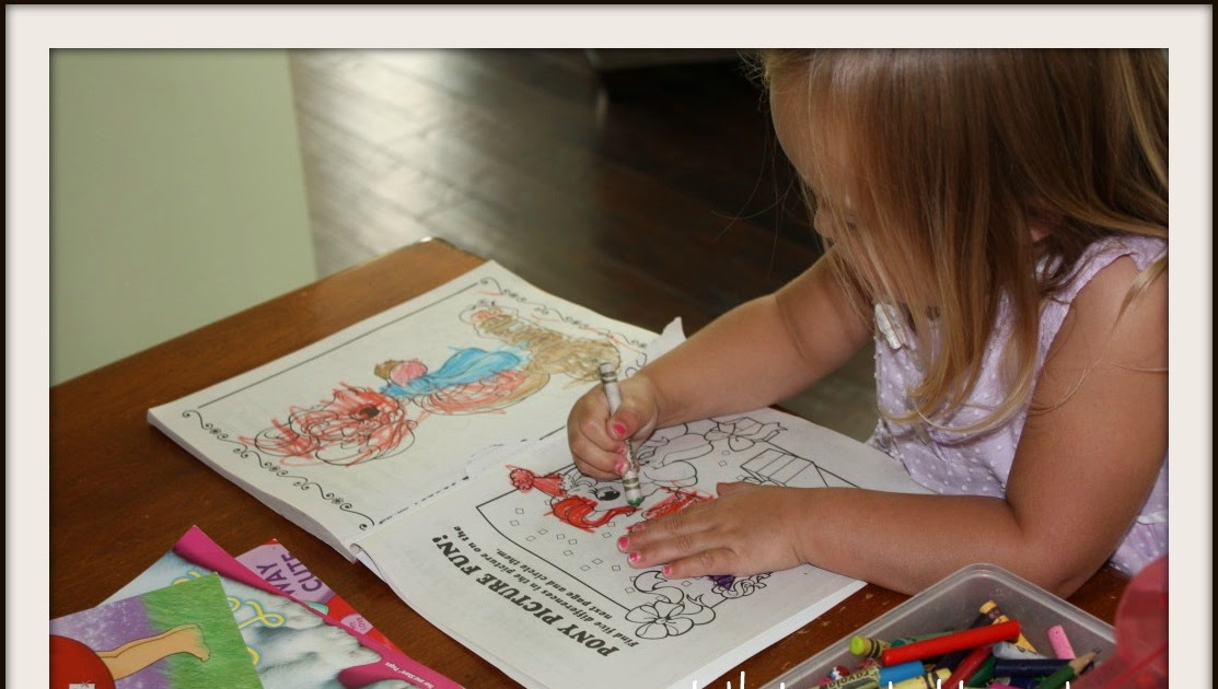 Let Kids Create 7 Benefits Of Coloring