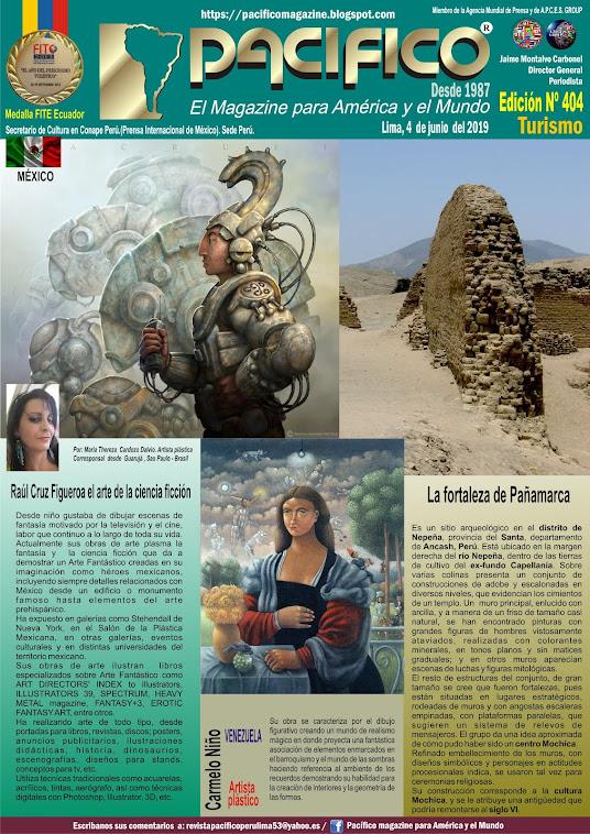 Revista Pacifico N°404 Turismo