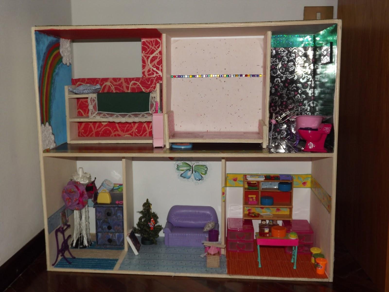 La casa delle barbie fai da te pensieri creativi di chicca for Poste mobili 0 pensieri small