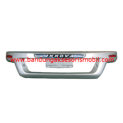 Bumper Grand Innova Euro+Lampu Silver Metalik