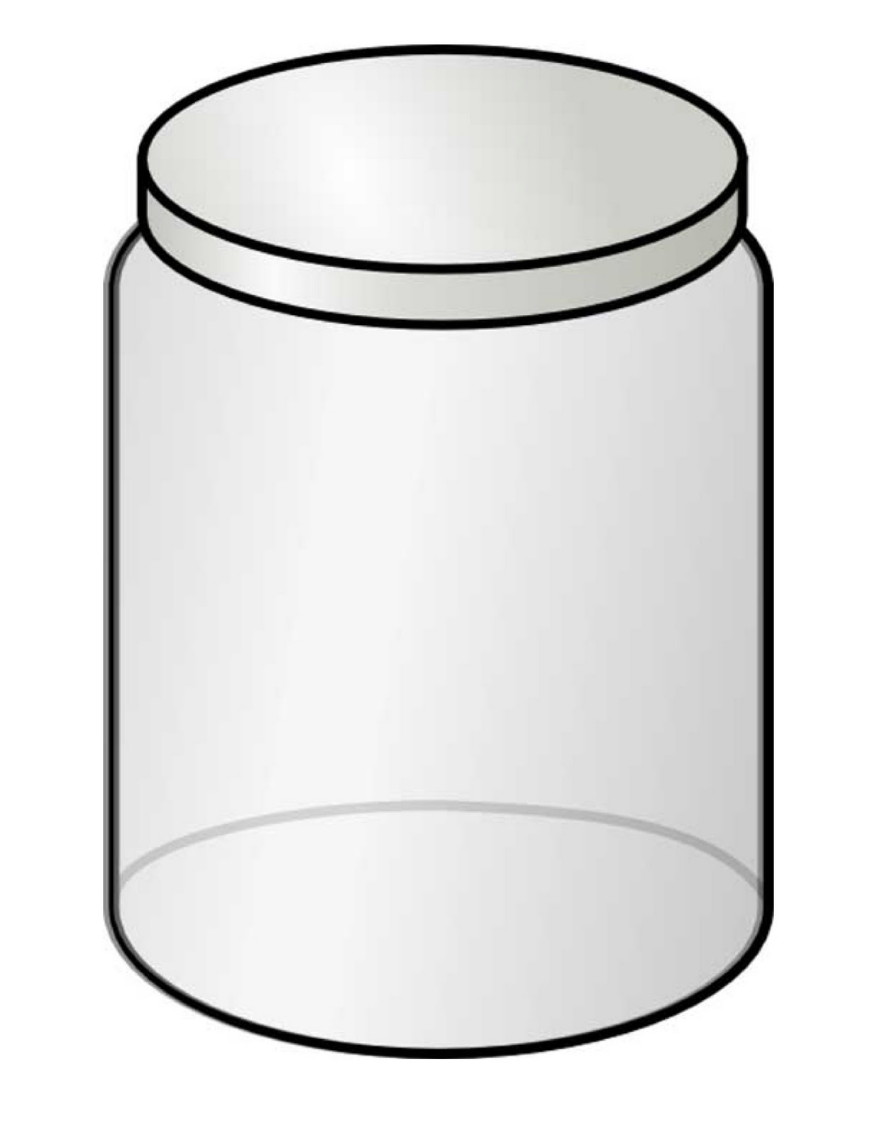 Mason Jar Coloring Pages