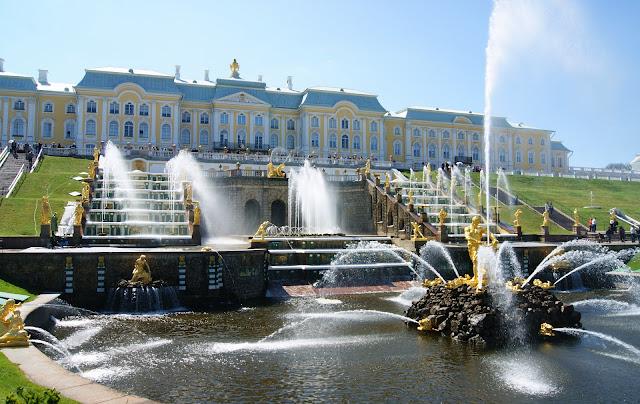 fontane Peterhof