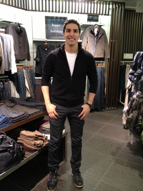 RWCO Pacific Centre and Alex Burrows NHL lock out shopping event, Vancouver, Fashion, Events, Canucks