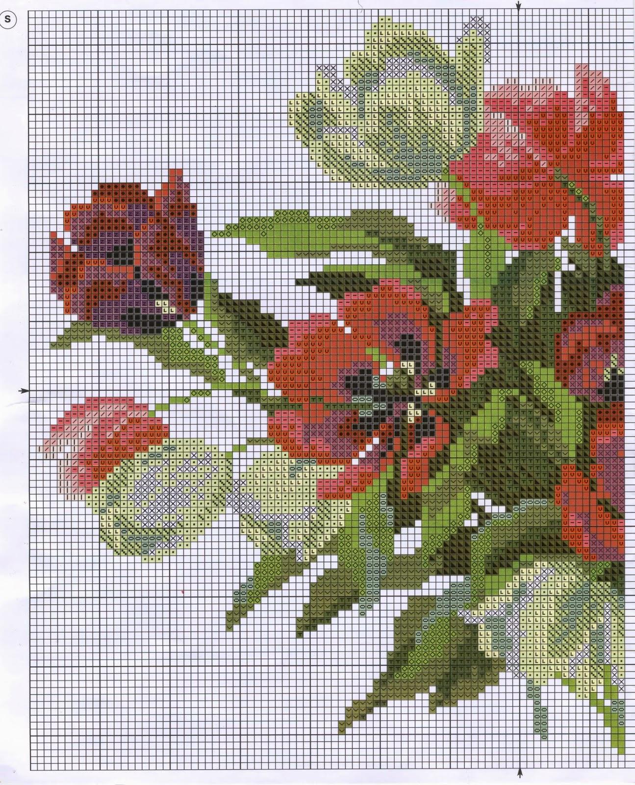 Вышивка тюльпан от риолис 421