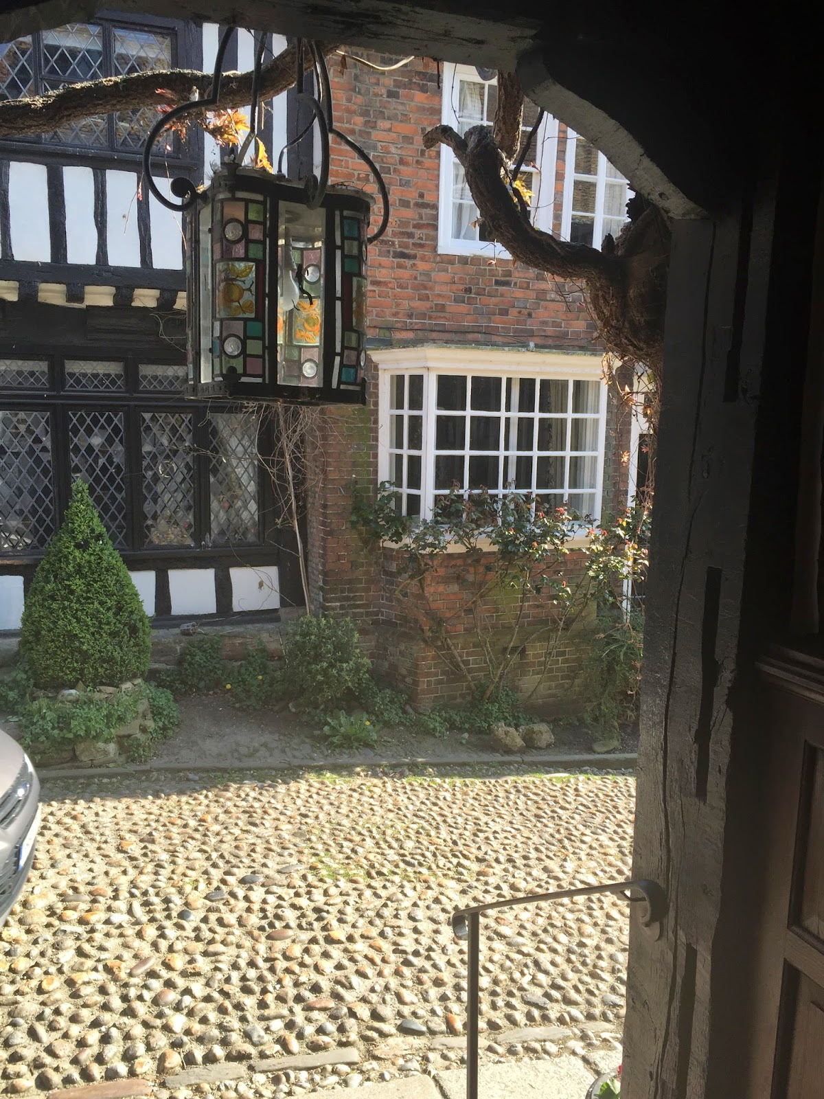 View from the Mermaid Inn, Rye, Sussex