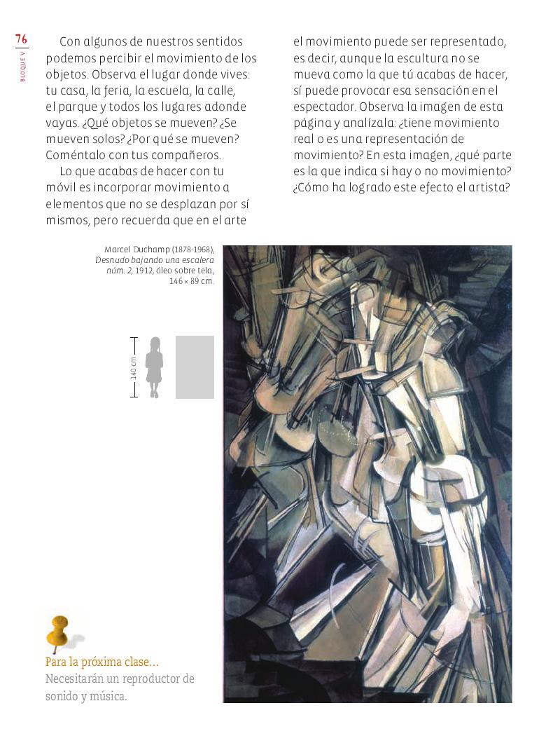 ¡La escultura se mueve! Educación Artística 4to Bloque 5 2014-2015