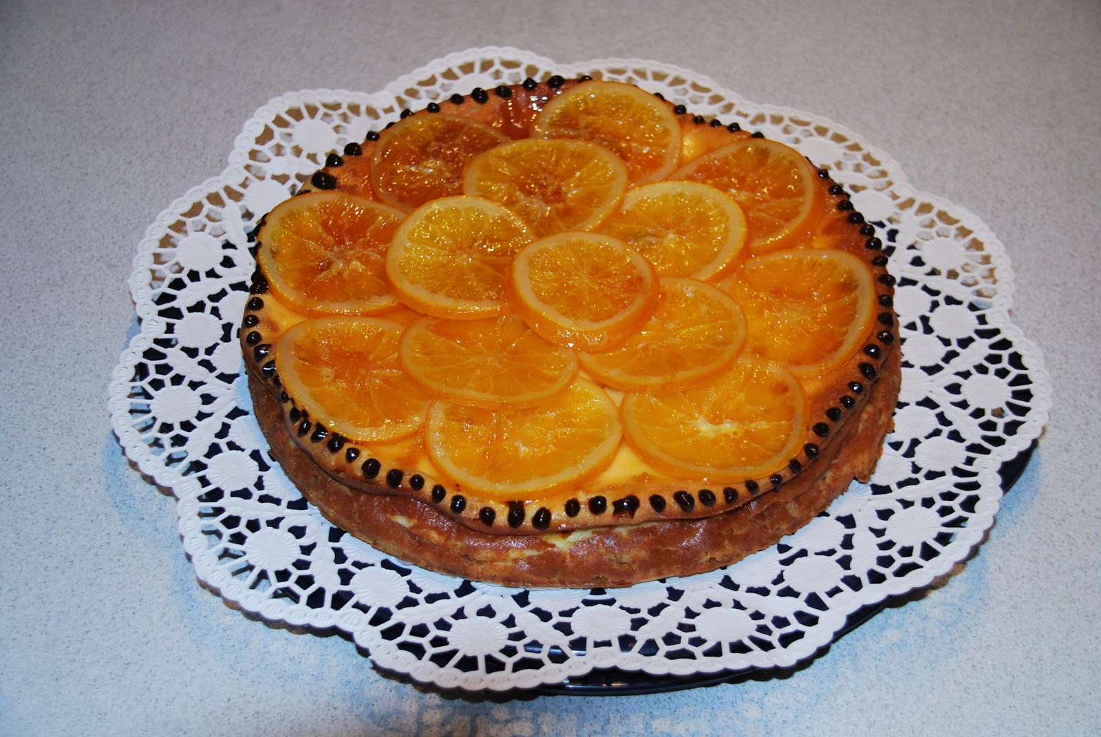 Caramelised Orange Cheesecake