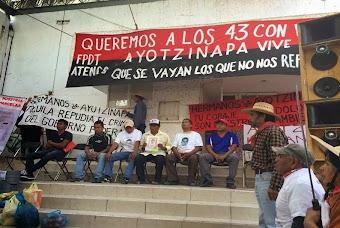 Se hermanan campesinos de Atenco con Ayotzinapa
