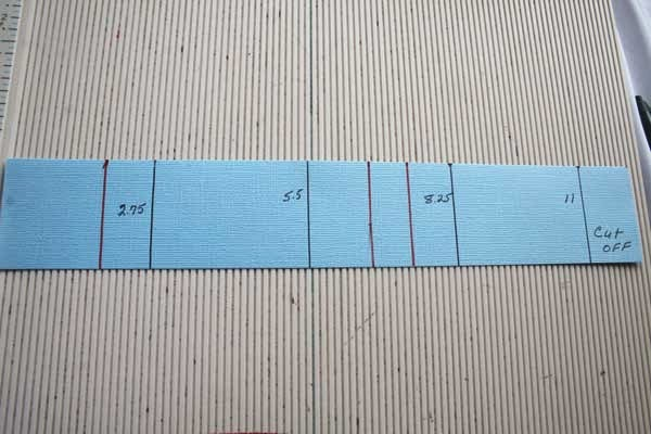 how to cut lines on a strip board