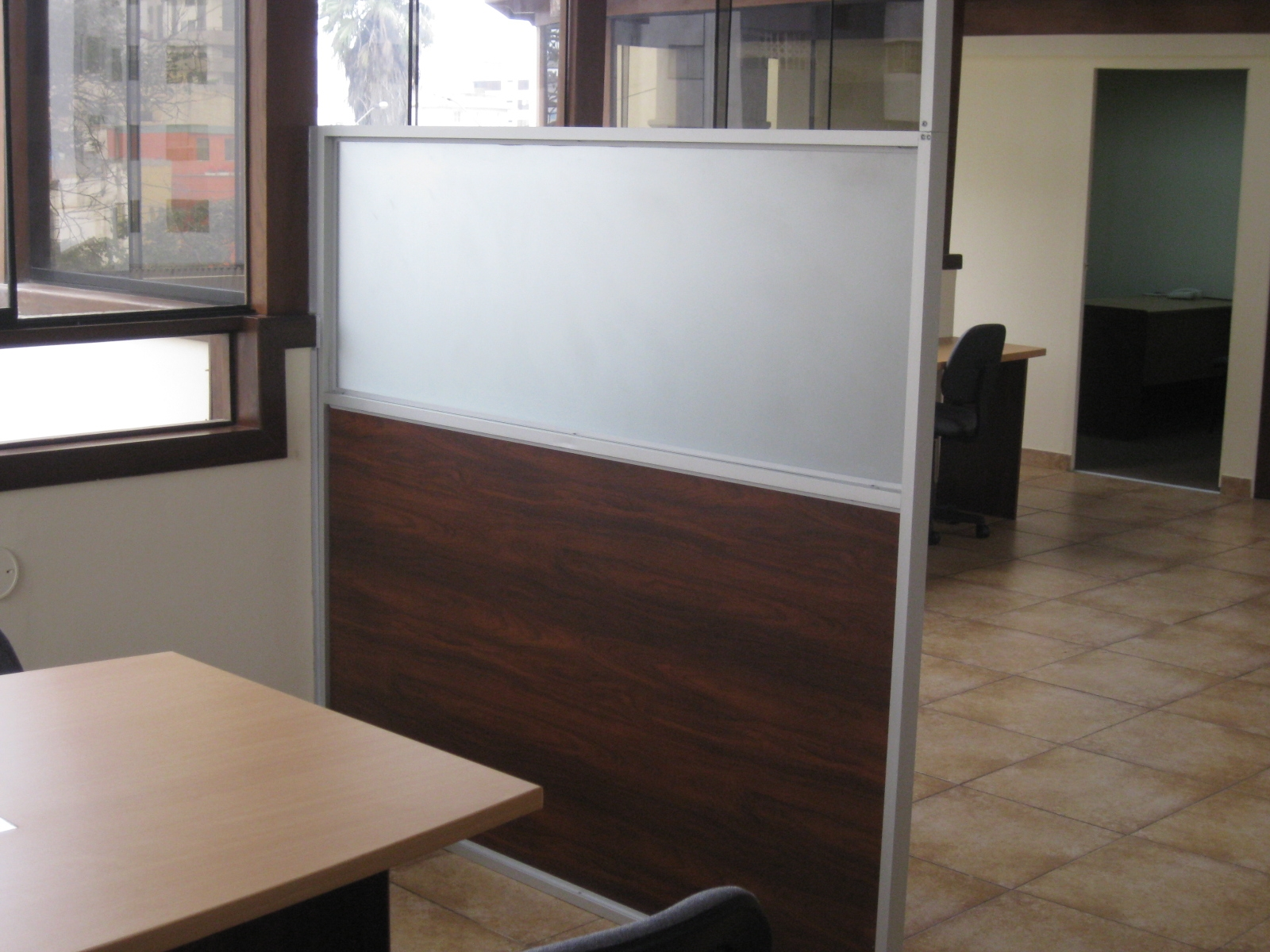 Separadores de ambientes para oficinas mamparas de - Separadores oficina ...