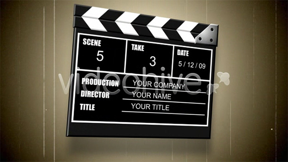 VideoHive Movie Slate V1