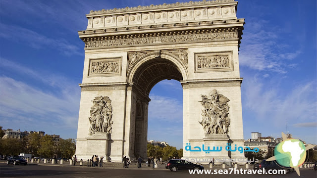 قوس النصر، فرنسا