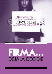 FIRMA DÉJALA DECIDIR