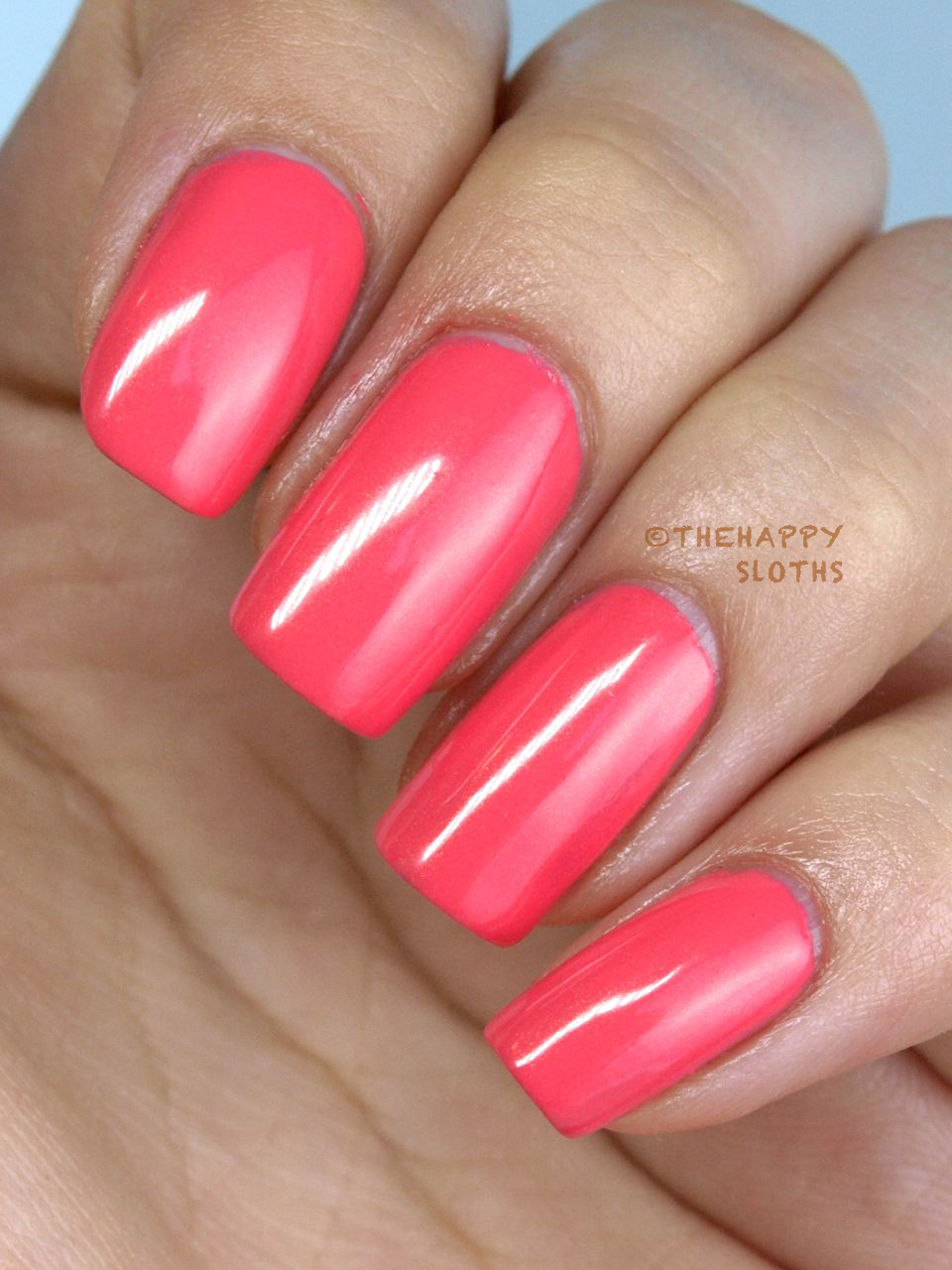 "Revlon ColorStay Gel Envy Longwear Nail Enamel in ""Lady Luck"" Review Swatches"
