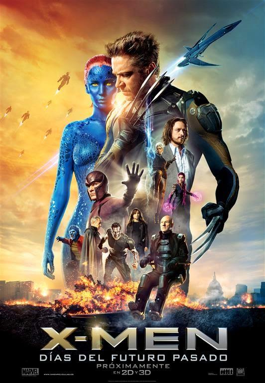 Nuevo póster de 'X-Men: Días del futuro pasado'. Noticias. MÁS CINE. Making Of