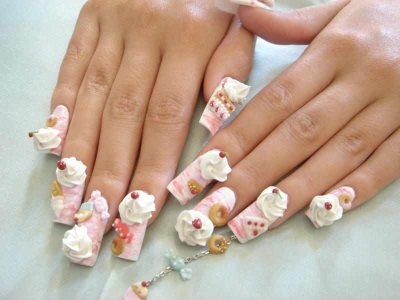 Nail art 3d nail art design for 3d nail decoration