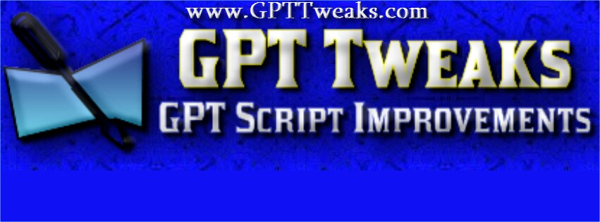 GPT Tweaks - Powerful and FREE GPT Site Script MODs Resources and Advice!