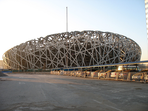 News and society stadium bird nest a place you must for The bird s nest stadium