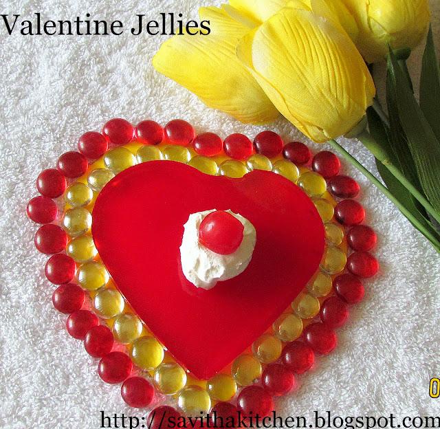 Valentine jellies