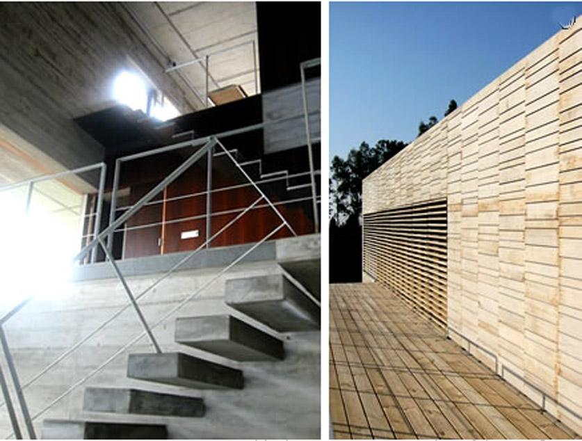 Galicia cool magazine vivienda unifamiliar en perbes mi o - Arquitectura de interiores coruna ...