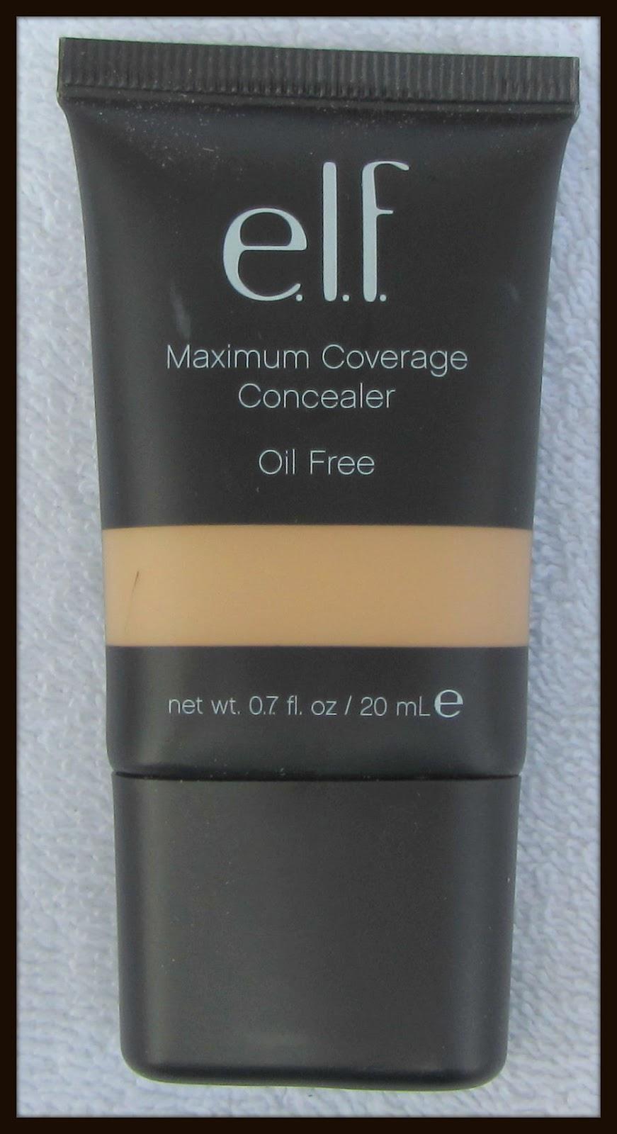 *Ninas Bargain Beauty*: ELF Maximum Coverage Concealer in