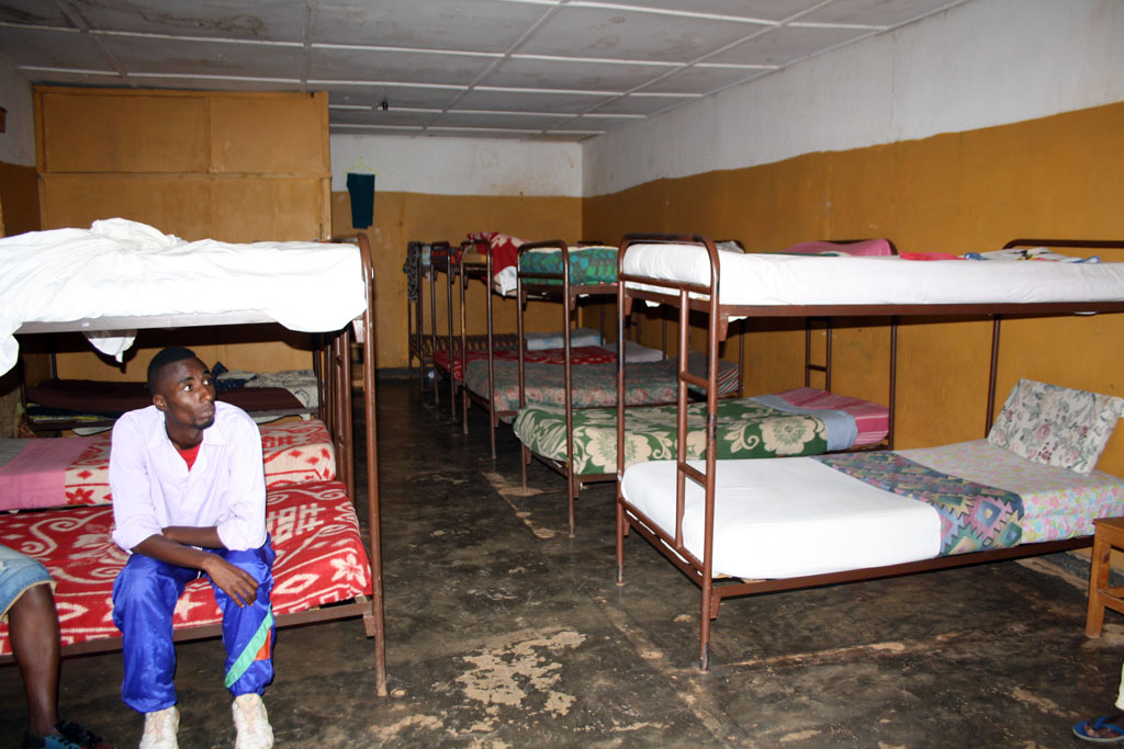 Marvelous The boys dorm is just an open room with bunk beds but the girls room has small wooden partitions to divide