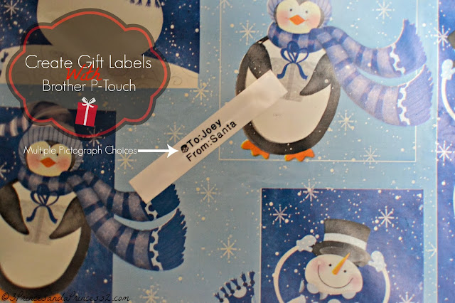 Create Gift Tags #Ptouch25 #MC #Sponsored