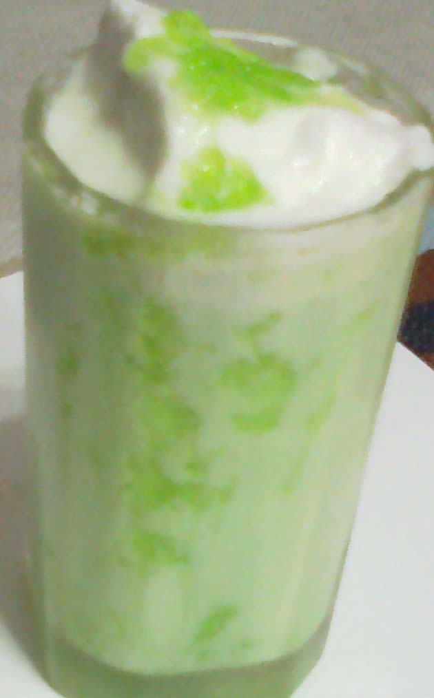 How to Make Green Apple Smoothie - Naiya's Recipes - Simple Easy ...