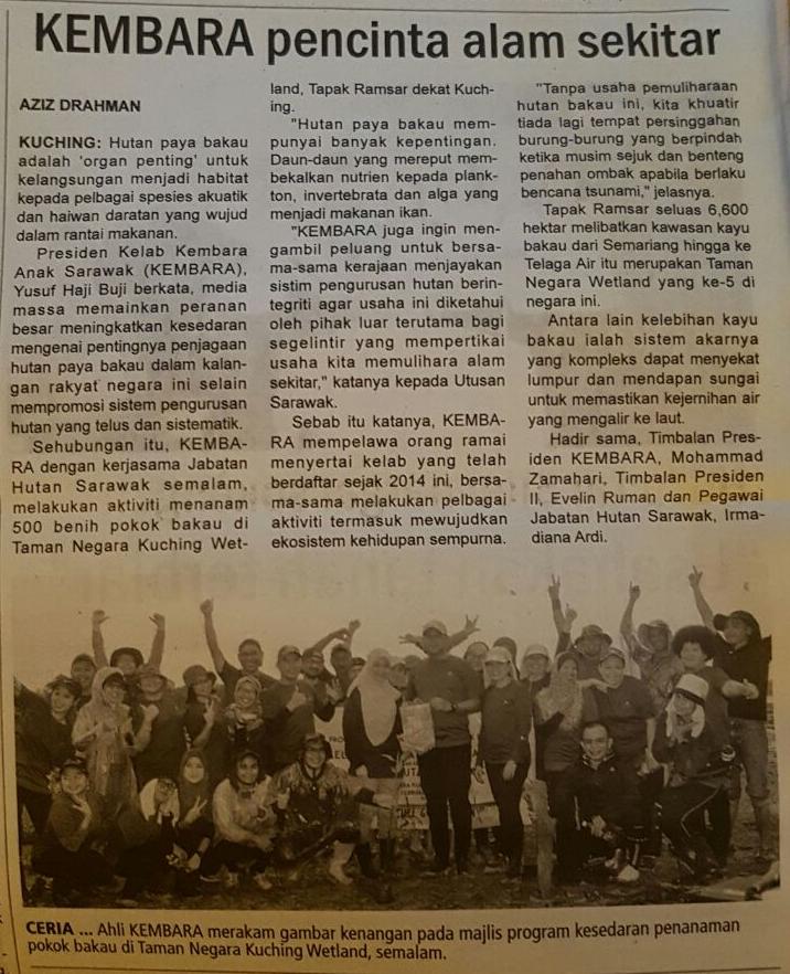 Akhbar Mingguan Borneo 26/2/2017