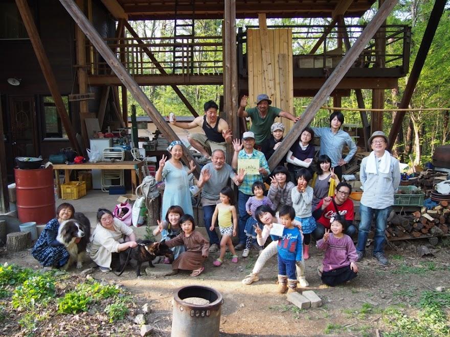 2015年4月26帰京集合写真