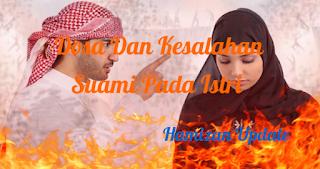 Dosa Dan Kesalahan Suami Pada Istri