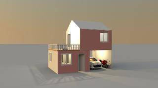 Rumah Minimalis Tampak Luar