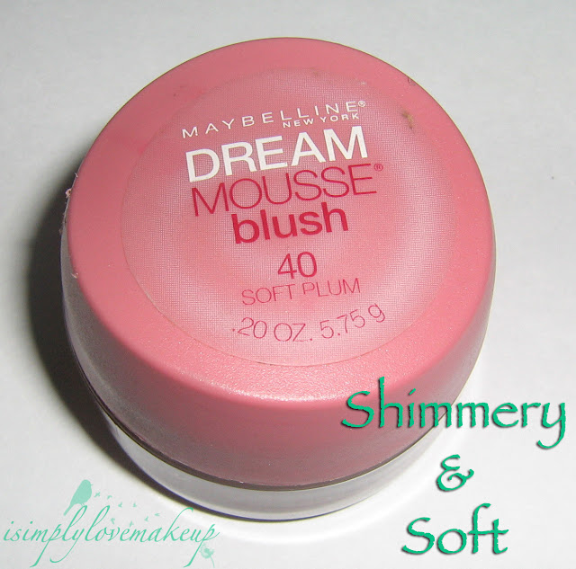 Maybelline Dream Mousse Blush In Soft Plum Review