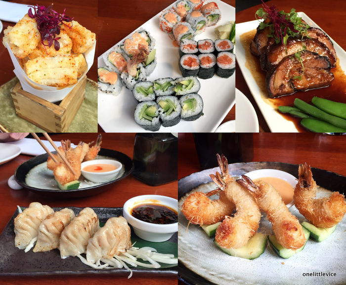 one little vice lifestyle blog: sushi in clapham