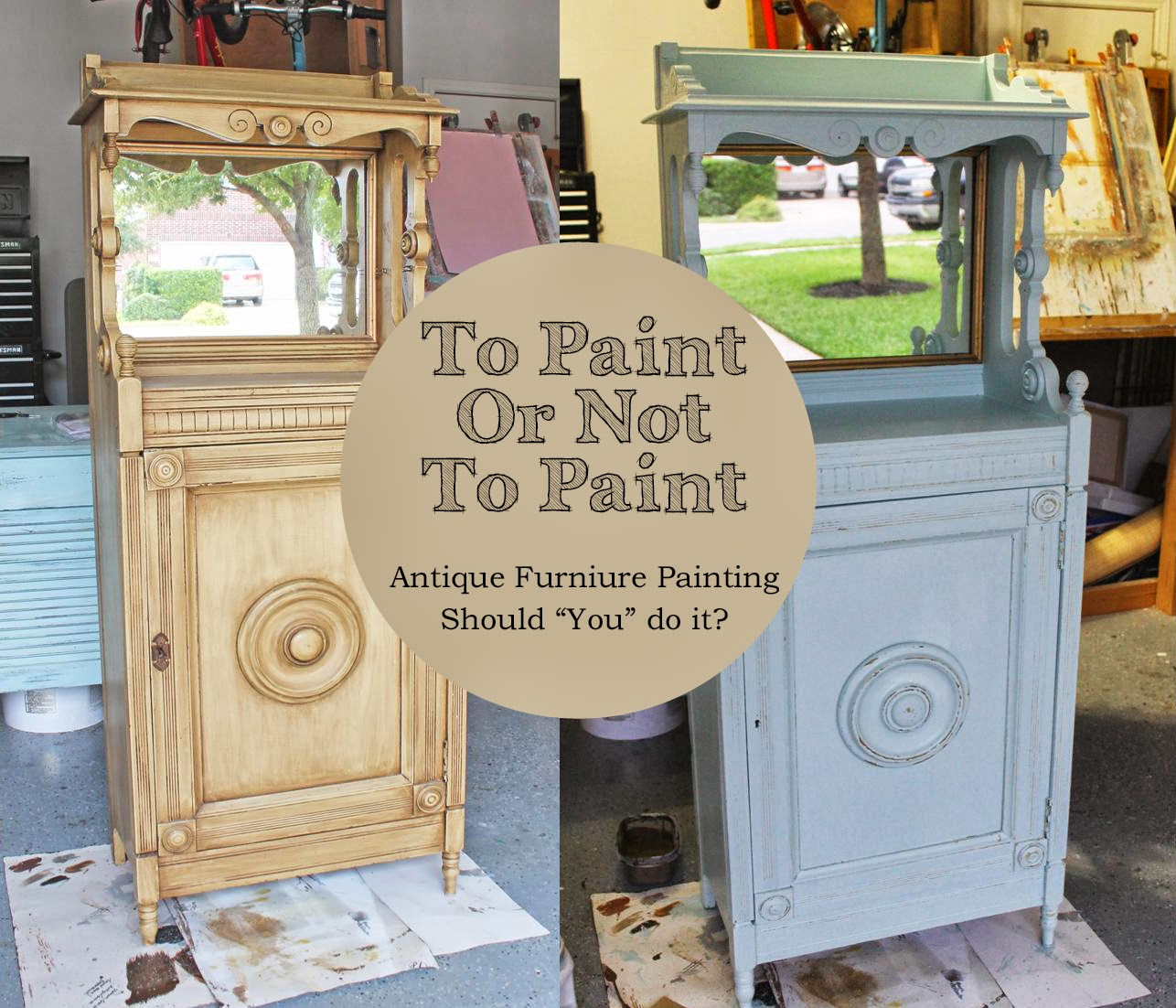 Paint Furniture The Ragged Wren  To Paint Or Not To Paint Antique Furniture